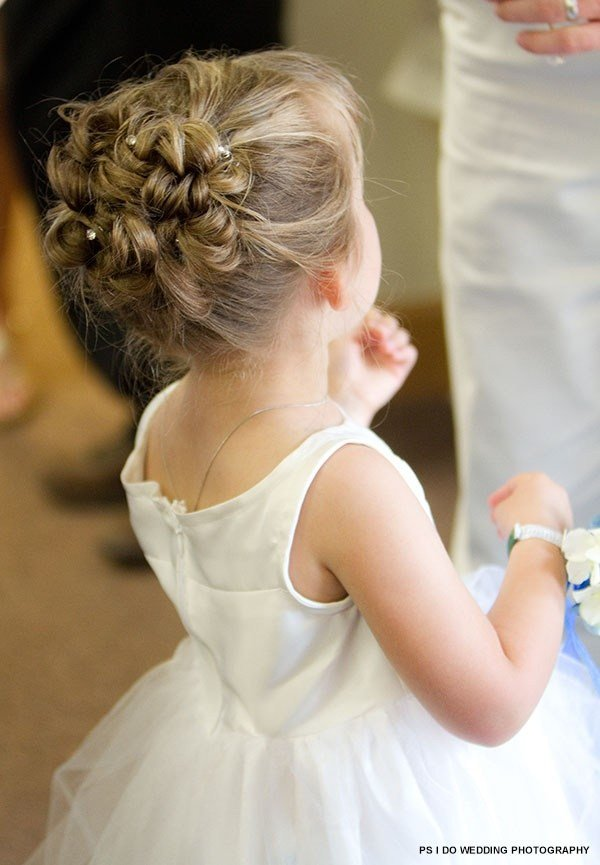 The Best Curly Updo For Flower Girl Crazy For Kids Pinterest Pictures