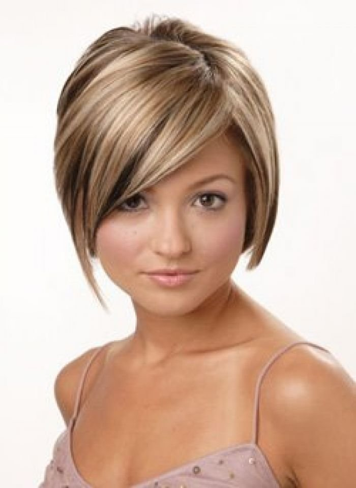 The Best Short Hairstyles With Burgundy Highlights Brown Pictures