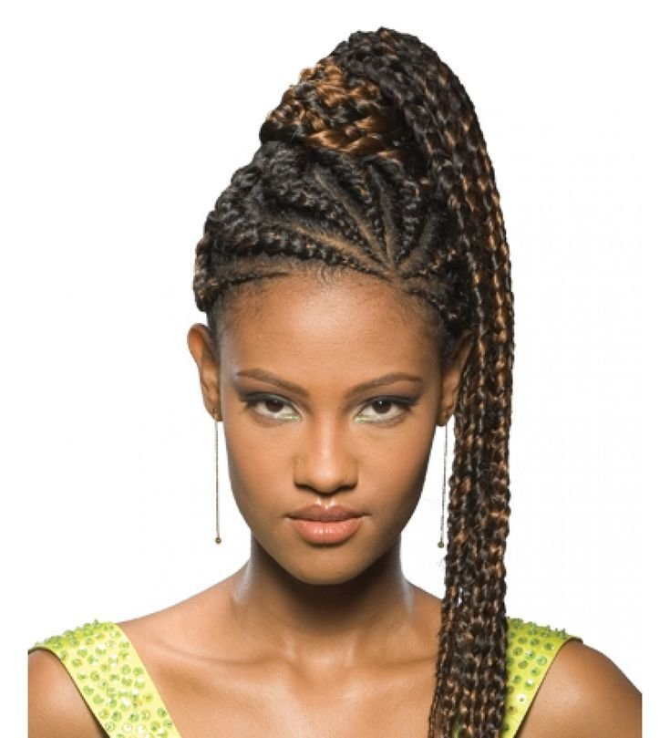 The Best Fake Braided Pony Tails For Black Women Freetress Equal Pictures