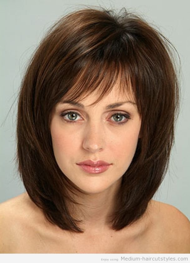 The Best Easy Medium Length Hairstyles 2014 Pictures Gallery Of Pictures