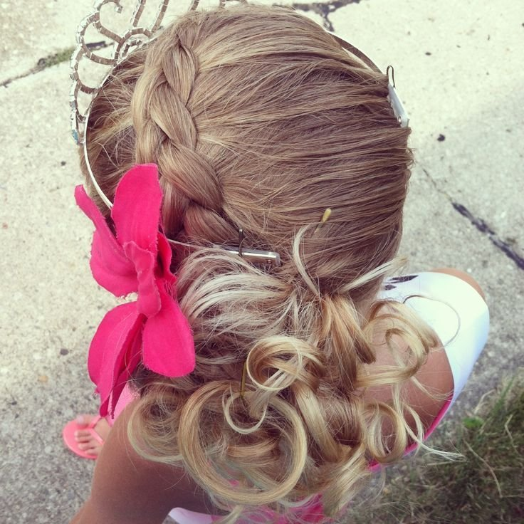The Best Simple Updo For Your Little Girl Beauty Pinterest Pictures