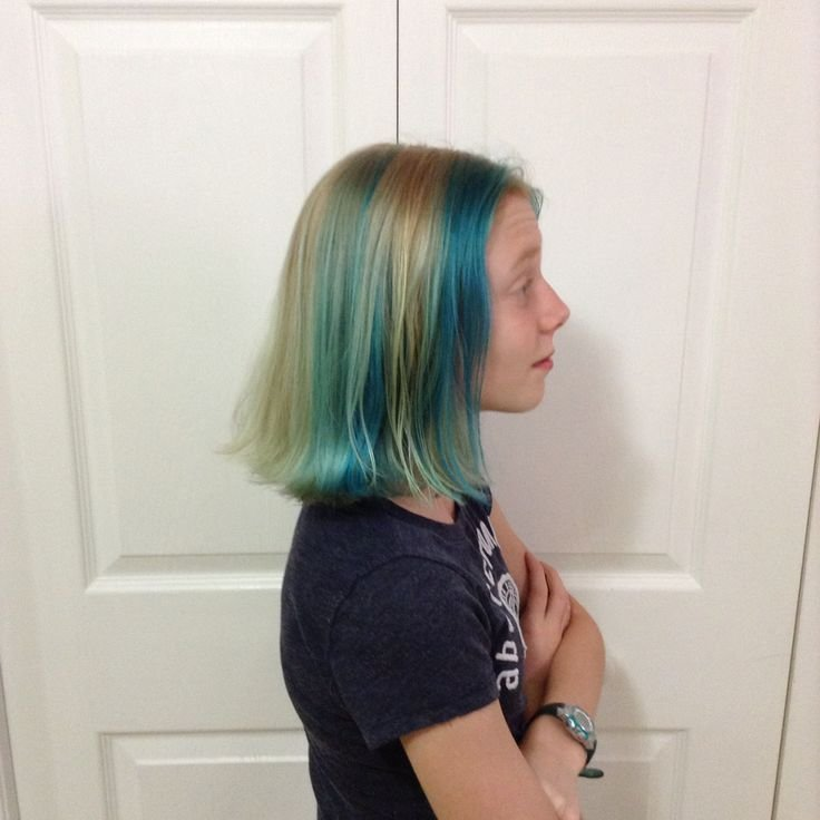 The Best Aqua And Cyan Temporary Hair Color Lasts About 2 4 Weeks Brand Ion Sold At Sally Beauty Supply Pictures