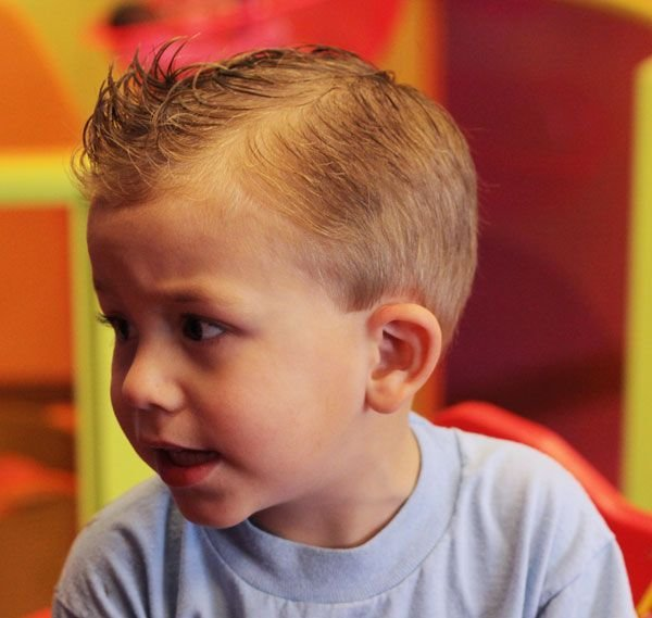 The Best Mohawk And Fohawk Haircuts For Boys Children S Styles Pictures