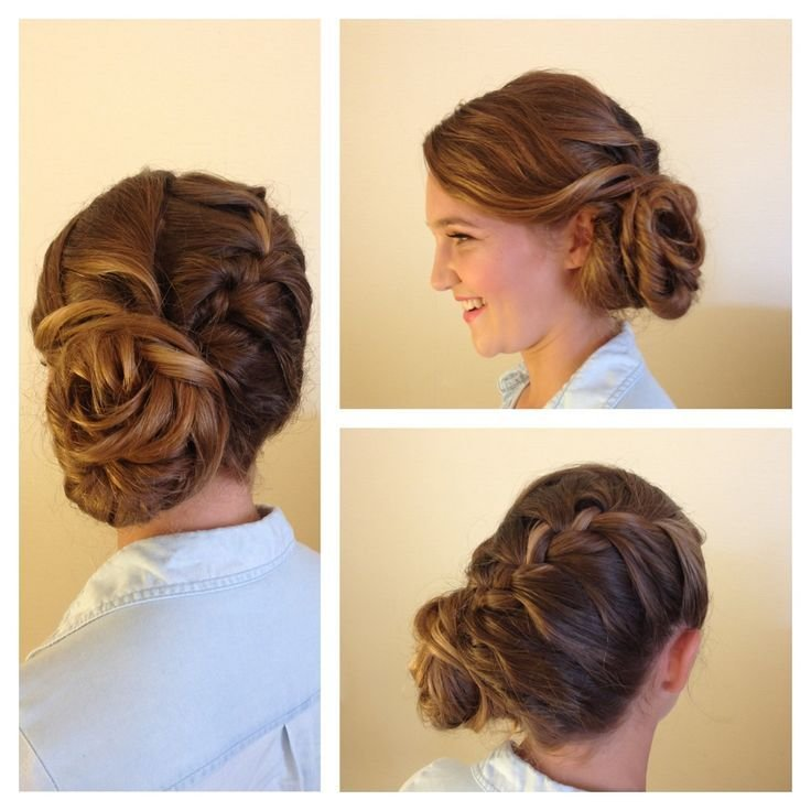 The Best 17 Best Ideas About Thick Hair Updo On Pinterest Simple Pictures