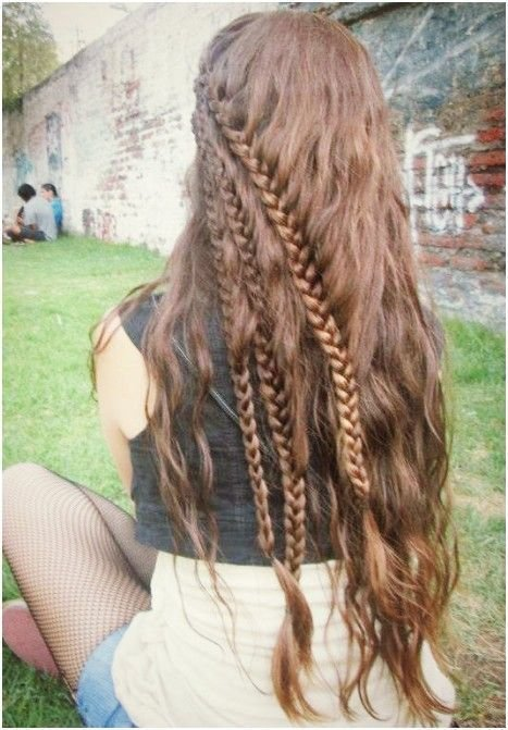 The Best 25 Best Ideas About Fishtail Waterfall Braids On Pictures