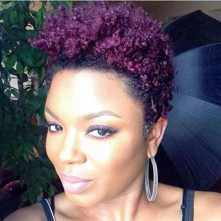 The Best Natural Hair Dyed Purple • N*Ppy Hair Don T Care Pictures