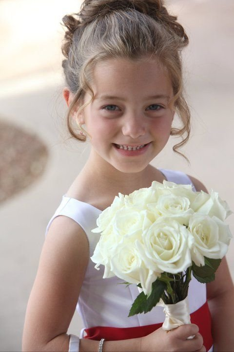 The Best Adorable Flower Girl Hair Wedding My Amazing Clients Pictures