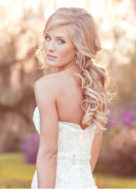 The Best Soft Romantic Curls For Your Wedding Day Hair By Liza Pictures