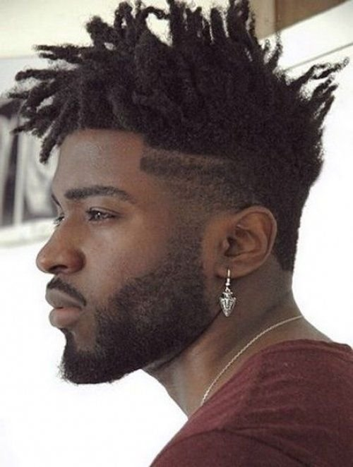 The Best Stylish Medium Dreaklocks Spiky Hairstyle For Black Men Pictures