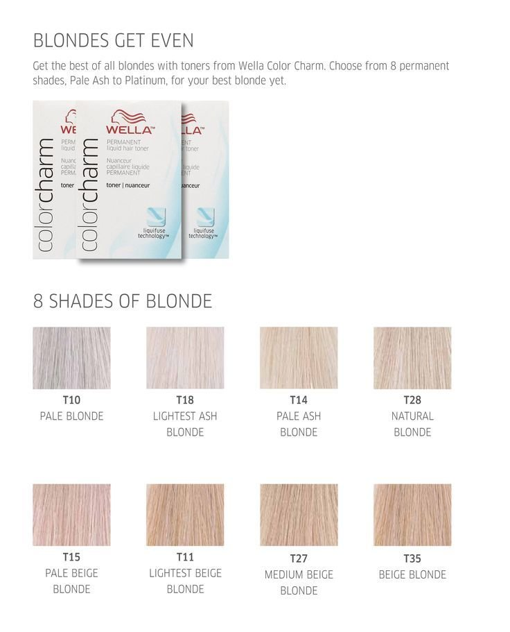 The Best Best 25 Wella Toner Chart Ideas On Pinterest Wella Hair Pictures