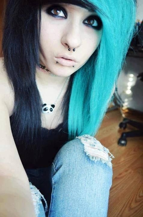 The Best Blue Emo Hair Blue And Black On Tumblr Emo Scene Hair Pinterest Emo Hair Blue And And Emo Pictures