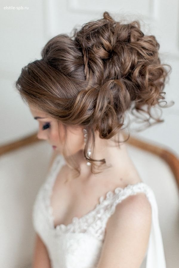 The Best Venician Textured Curls Woven Into A High Messy Bun Simple Beauty Pinterest My Hair Curls Pictures