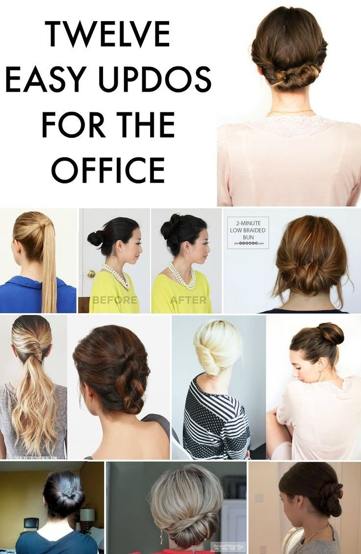 The Best 311 Best Images About Work Appropriate Hairstyles On Pictures