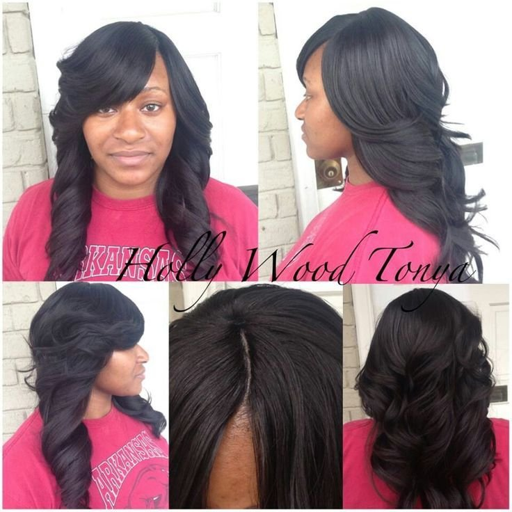 The Best Full Sew In Sew In Hairstyles Pinterest Lace Closure Pictures