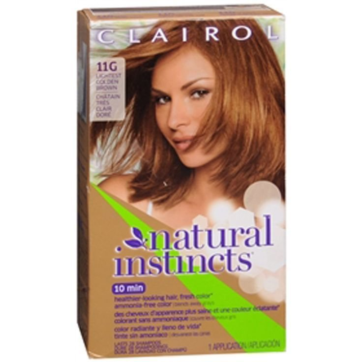 The Best Amazonsmile Clairol Natural Instincts 011G Amber Pictures