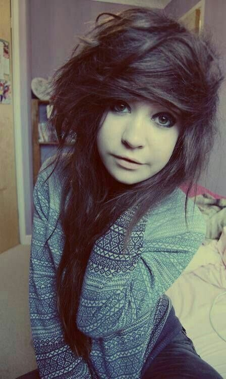 The Best Emo Bangs With Curly Hair Google Search Hair Pictures