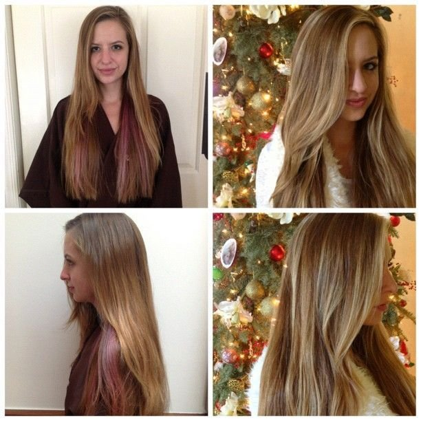 The Best Hair Color Fix Before And After Cut Color Pictures