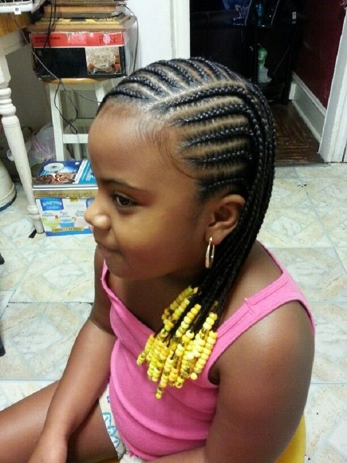 The Best Large Cornrows Styles For Little Girls Little Black Girl Pictures