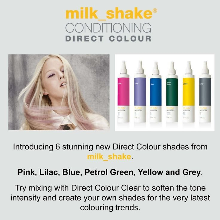 The Best Milkshake Conditioning Direct Colour New Direct Colour Pictures