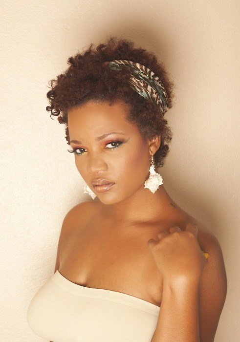 The Best Twa With Headband Black Women Natural Hairstyles Pictures
