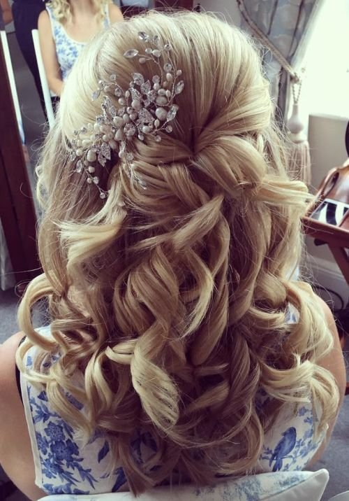 The Best 1000 Ideas About Medium Wedding Hair On Pinterest Pictures