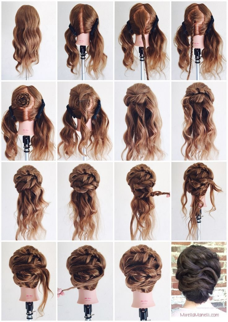 The Best 1000 Ideas About Curly Updo Tutorial On Pinterest Easy Pictures