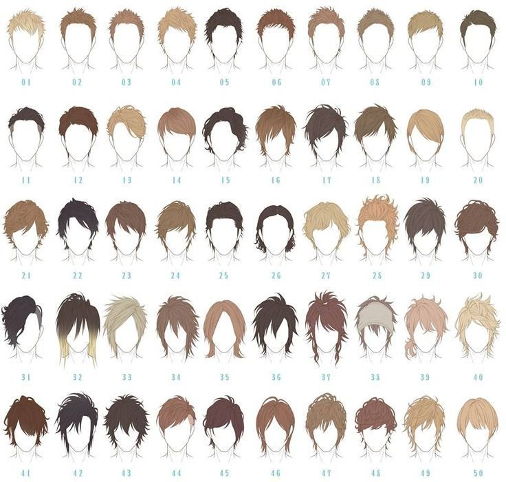 The Best Best 25 Anime Boy Hairstyles Ideas Only On Pinterest Pictures