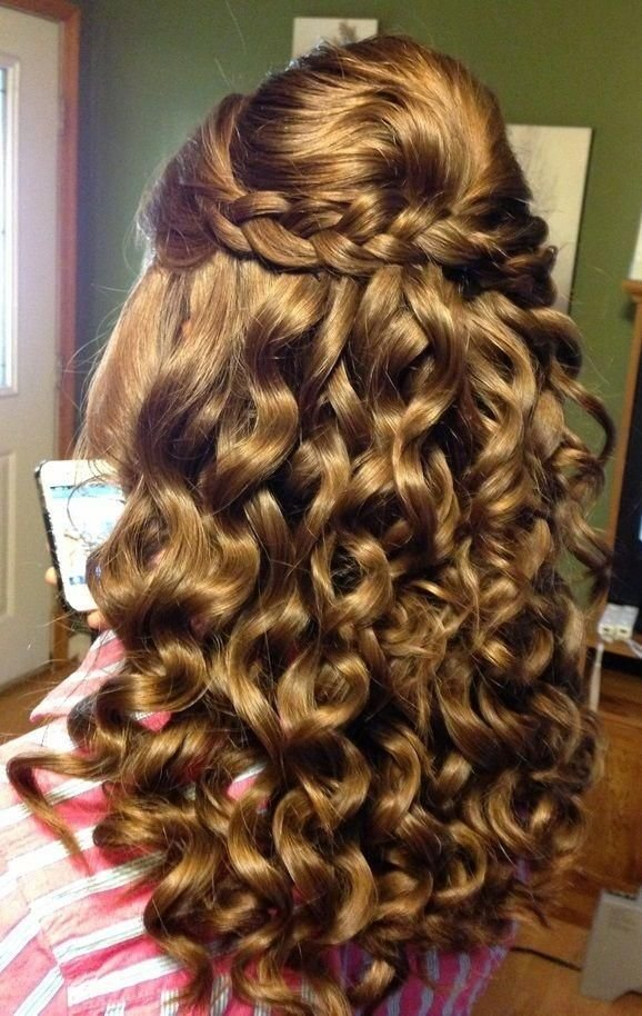 The Best Homecoming Hair Kids Pinterest Pictures