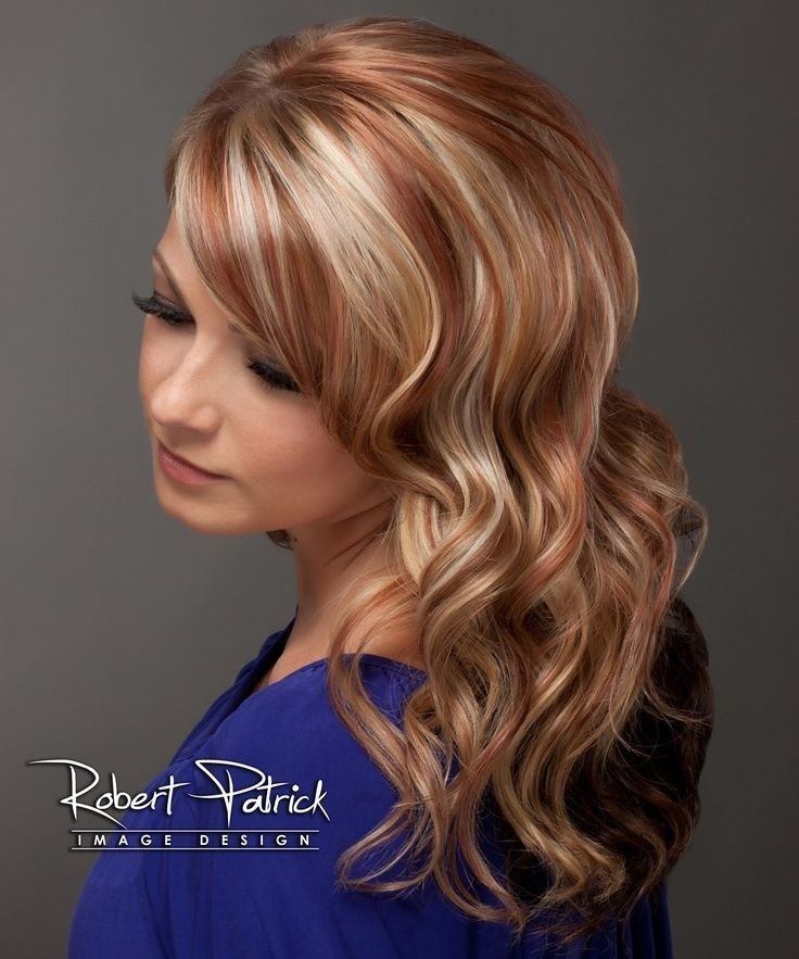 The Best 1000 Ideas About Red Blonde Highlights On Pinterest Pictures