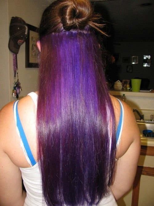The Best 1000 Ideas About Underneath Hair Colors On Pinterest Pictures