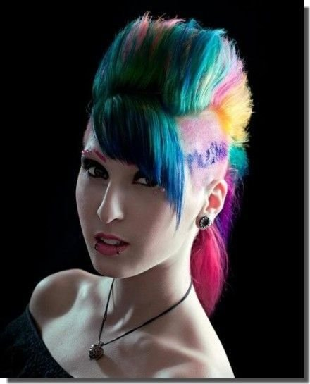 The Best 127 Best Images About Girls With Mohawks On Pinterest Pictures