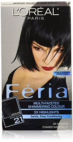 The Best Feria Hair Color 21 Bright Black Packaging May Vary Pictures