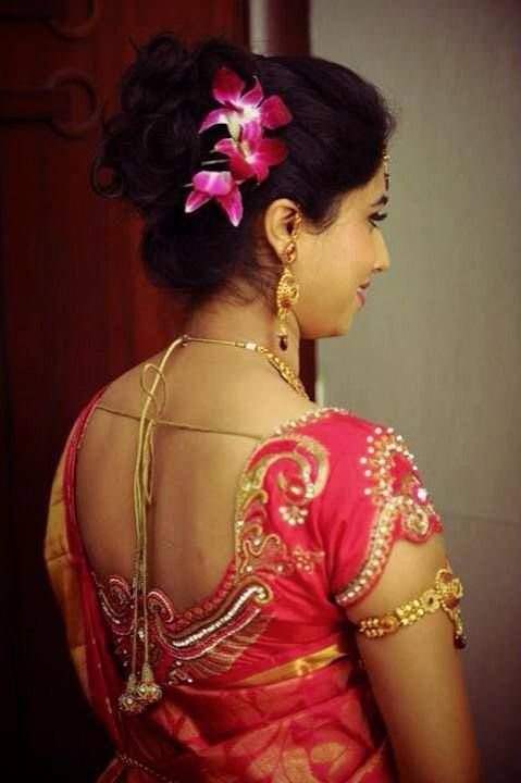 The Best Indian Bride S Reception Hairstyle Styled By Swank Studio Indian Bridal Hairstyles Pinterest Pictures
