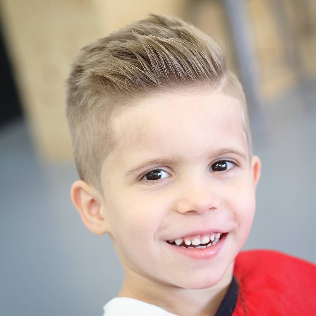 The Best 6 Year Old Boy Hairstyles Fade Haircut Pictures