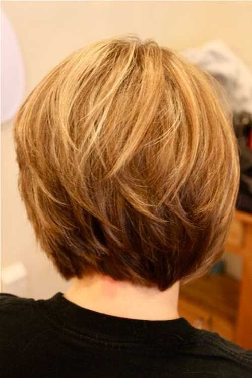The Best Short Layered Bob Hairstyles 2016 When Com Image Pictures