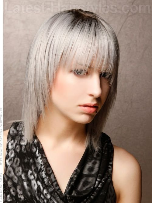 The Best Silver Hair Color Shades Blonde 10 Smoking Hot Pictures