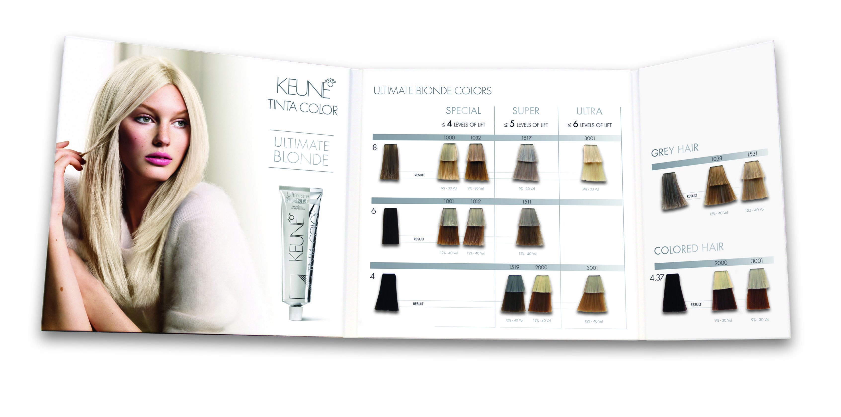 The Best Keune Tinta Color Ultimate Blonde Swatch Book Keune Pictures