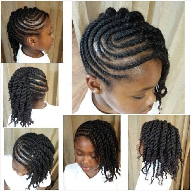 The Best Cute Flat Twist Updo With Curvy Parts Black Girls Hair Pictures