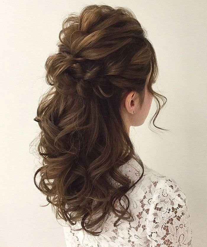The Best Gorgeous Half Up Half Down Hairstyles Curly Hairstyles Pictures
