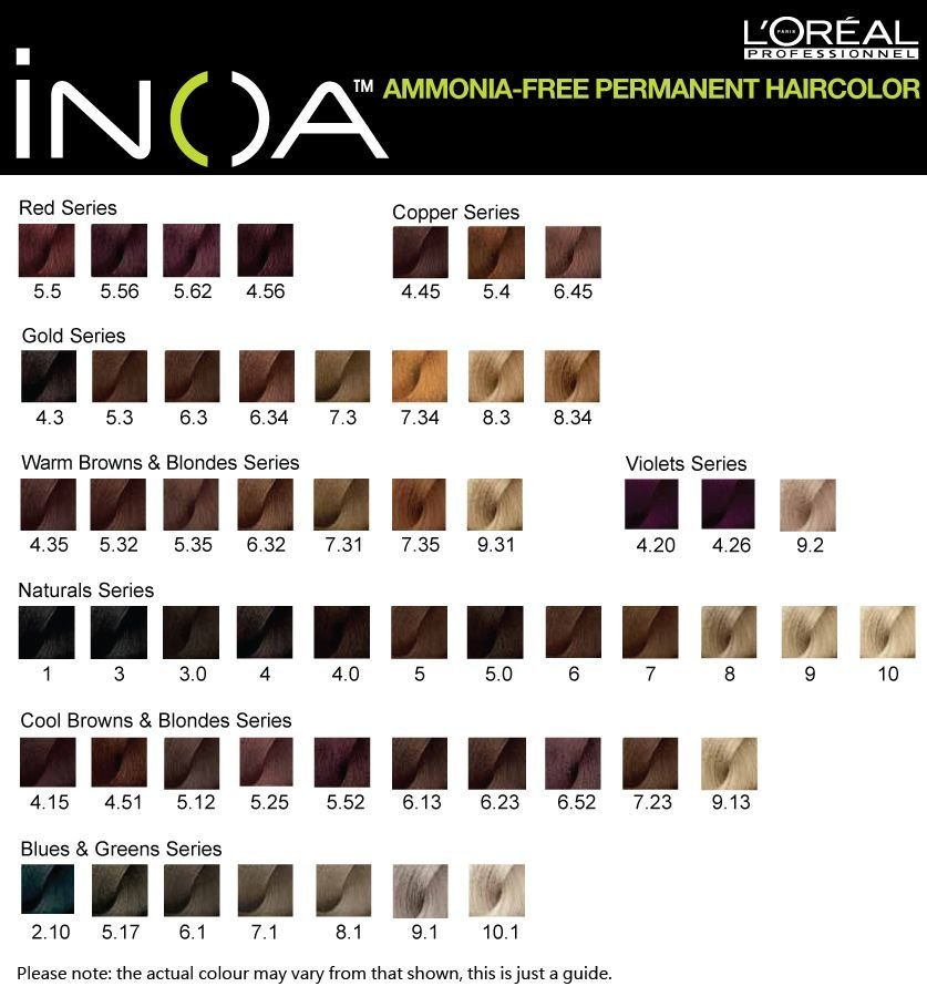 The Best Inoa Hair Color 5N Google Search Coiffure Pinterest Pictures