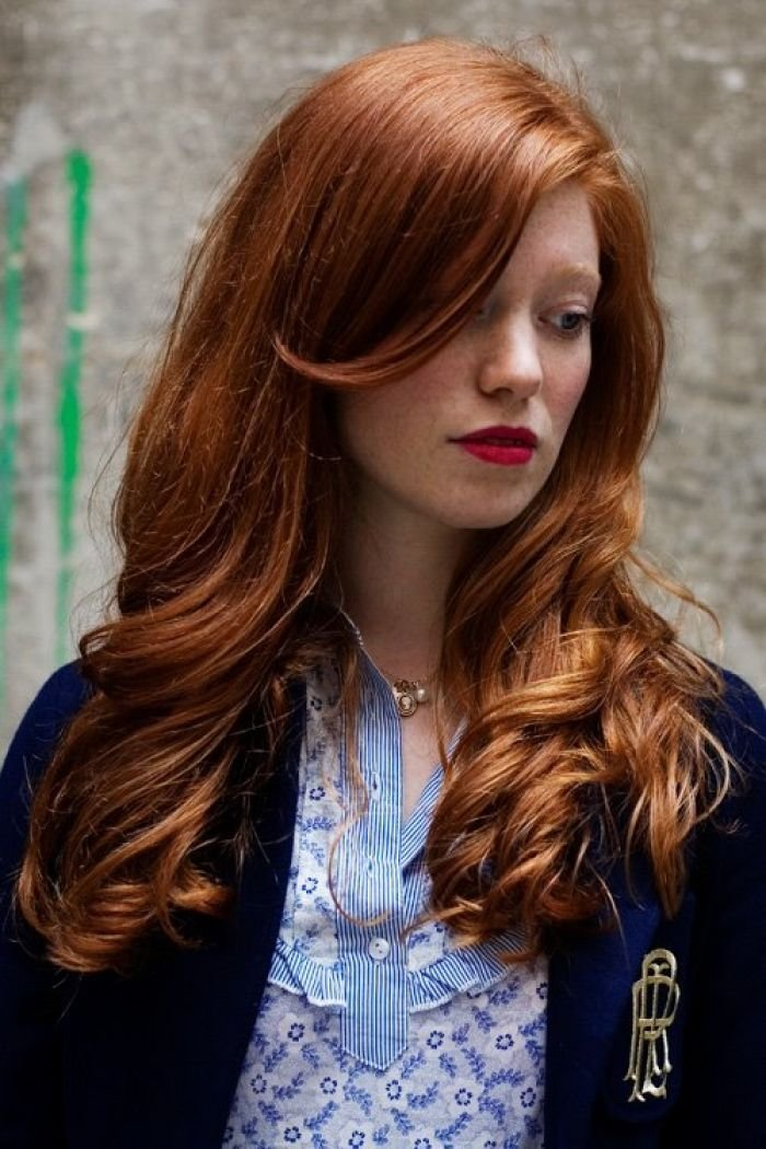 The Best Light Red Hair If I Could Find This Color Over The Pictures