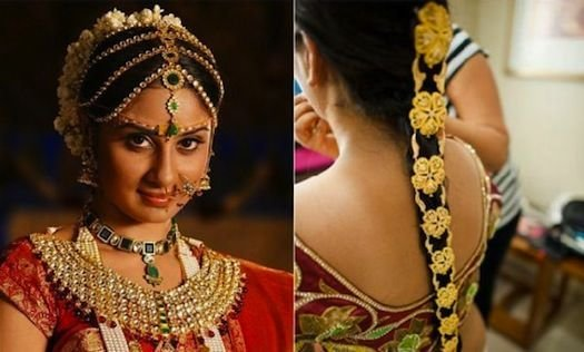 The Best Traditional South Indian Braid Bride Brides Around The Pictures
