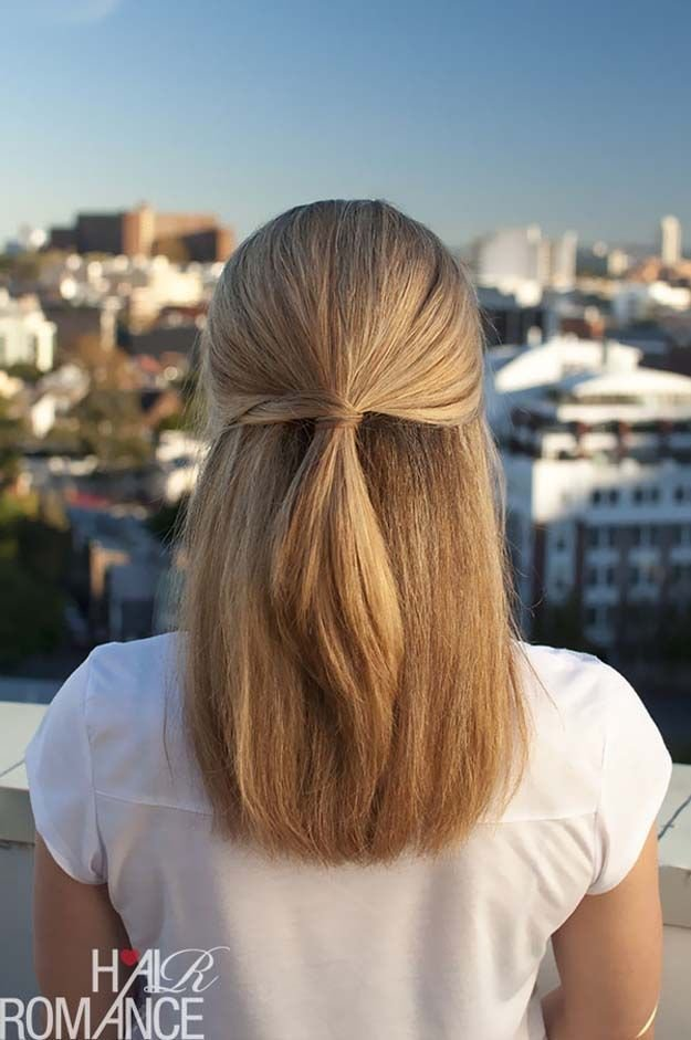 The Best Best 25 Easy Hairstyles Straight Hair Ideas On Pinterest Pictures