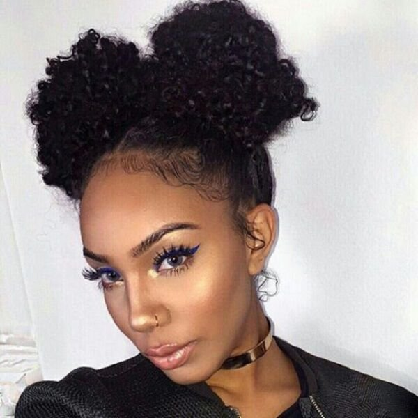 The Best 8 Quick Easy Hairstyles On Medium Short Natural Hair Pictures