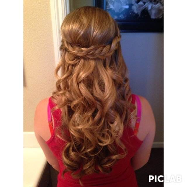 The Best How I Did My Hair For My 8Th Grade Promotion Dance Hair Pictures