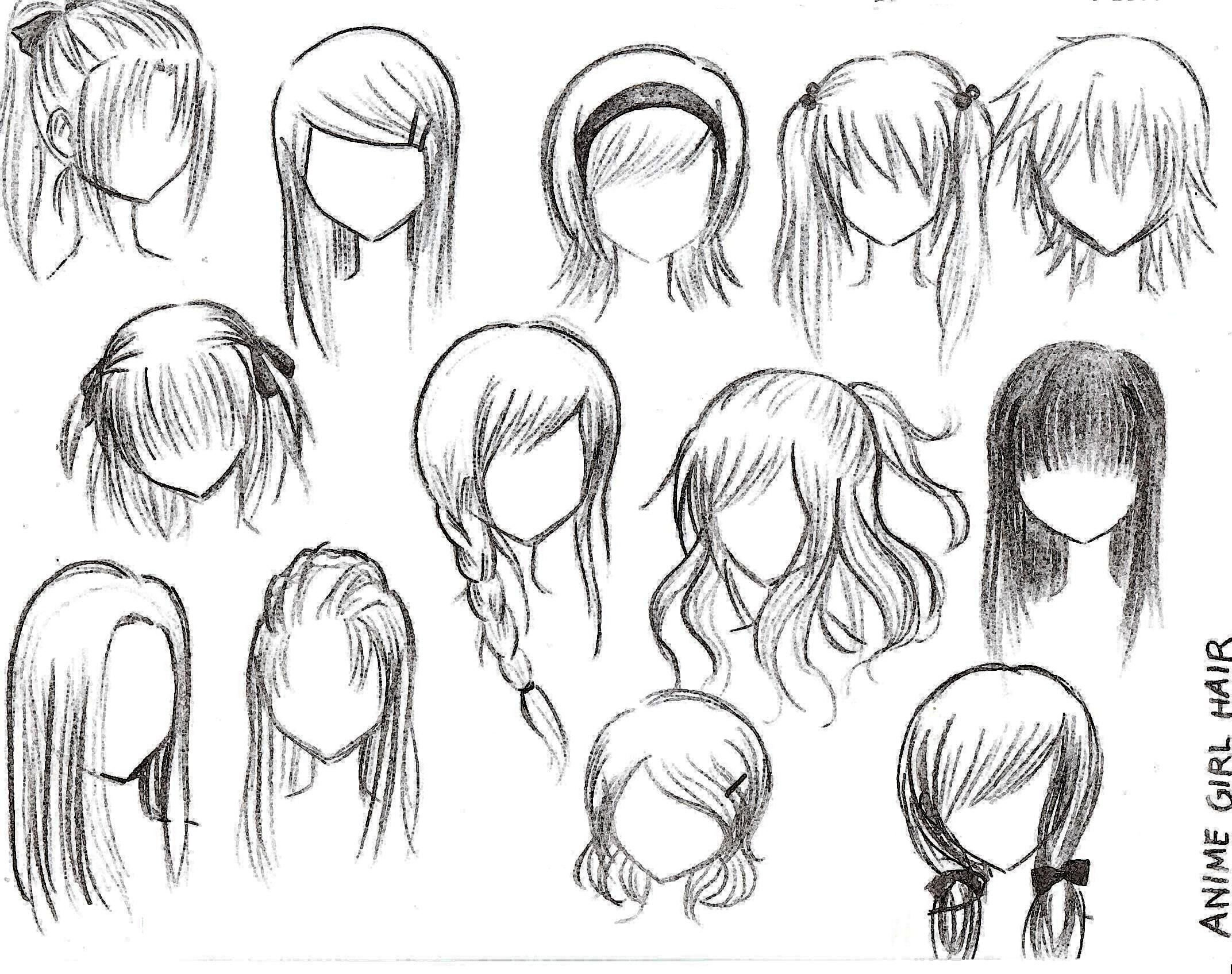 The Best Anime Hairstyles On Pinterest Anime Hair Anime Eyes And Pictures