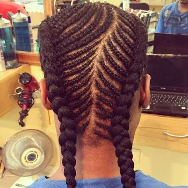 The Best African American Fishtail Braids Hairstyles Black Men Pictures