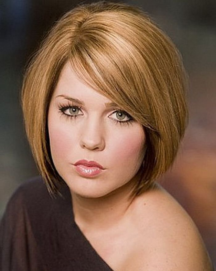 The Best Short Hairstyles For Round Faces And Thick Hair Recipies Pictures
