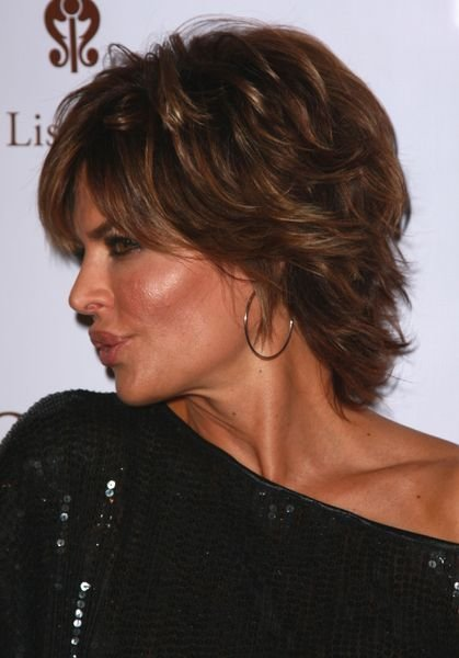 The Best Lisa Rinna Hairstyle Back View Hair Pictures