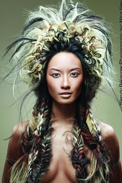 The Best Large Native American Inspired Style With Fishtail Braids Pictures
